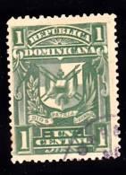 Dominican Republic     96 Fine Used,Perf 12.5 X 14 - Dominican Republic