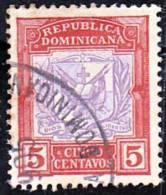Dominican Republic    129 VF Used - Dominican Republic