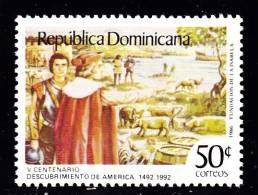 Dominican Republic   1111 VF Mint NH Part Of Columbus Set - Dominican Republic