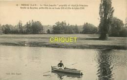 Cpa 35 Messac, Le Bois Jaquelin, Homme En Barque Au 1er Plan - Autres Communes