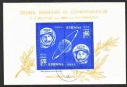 Romania C 144  (o)  SPACE - Airmail