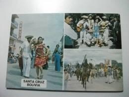 Bolivia Santa Cruz  Musicos Cambitas Caballo  Pareja - Bolivia