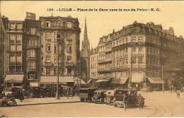 Lille - Place De La Gare Vers La Rue Du Priez - Lille