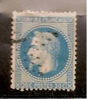 FRANCE NAPOLEON III N° 29B OBLITERE ???? - 1853-1860 Napoleon III
