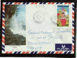CAD /PA  124  PAPEETE-RP  ANNEXE  1  POLYNESIE   5 -4 -1978         Pour   Hyères  83