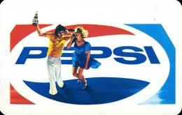 PEPSI * COLA * SOFT DRINK * WOMAN * GIRL * BUDAPEST * CALENDAR * FAJV 1977 * Hungary - Calendarios
