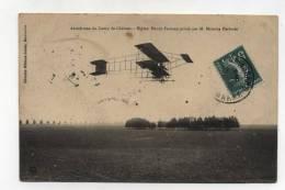 CPA  51 : Camp De Chalons Aviation Biplan Farman Piloté Par Herbster    VOIR   DESCRIPTIF  §§§ - Camp De Châlons - Mourmelon