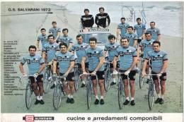 CYCLIME G.S SALVARANI 1972 GIMONDI BASSO E.T.C - Sports