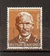 DUITSLAND  BRD - Deutsche Bundespost- Nr 168 Y & T - 1958 - Used (°) - Oblitérés