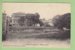 Mazan : Château De Sade. 2 Scans. Edition Brun - Mazan