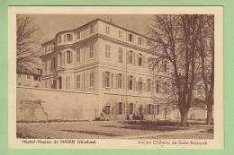 Mazan : Hôpital Hospice De Mazan. Ancien Château De Sade Restauré. 2 Scans. Edition Bartesago - Mazan