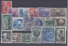 ITALIE - 1945/51 - PETIT LOT  - OBLITERES Et NEUFS - TB - - 6. 1946-.. Republic
