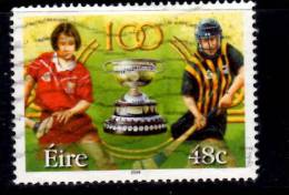 Ireland 2004 48c Camogie Centennial Issue #1562 - Usati