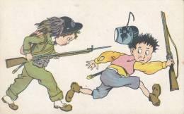 HUMOR CARICATURE -  VG 1918 BELLA FOTO D´EPOCA ORIGINALE 100% - Humour