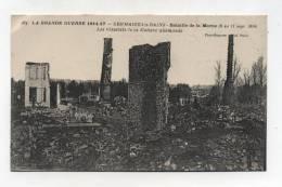 CPA  51 : SERMAIZE LES BAINS   Guerre 14-18  écrite En 1918    A   VOIR   !!!!! - Sermaize-les-Bains