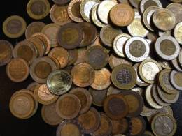 100 Coins Bimetall - Münzen