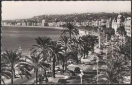 AK Nice, La Promenade Des Anglais Et La Baie Des Anges, Gel 1962 - Non Classés