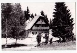 EUROPE SLOVENIA POSTARSKA MOUNTAIN HOUSE AT PLESIVAC 800 M OLD POSTCARD - Slovenia