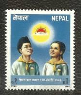 NEPAL, 1990, Children Organization, Children´s, Organisation, Child,  MNH, (**) - Nepal