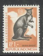 INDONESIA IRIAN BARAT 1968 ZBL 27 KANGAROO MNH POSTFRIS ** NEUF - Indonésie