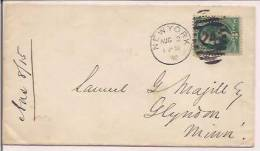 USA Commercial Cover, Postal Markings, Postal History,  (8601) - Briefe U. Dokumente