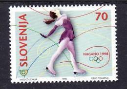 2015/ Slowenien Slovenia Slovenie 1998 Mi.No. 217 ** MNH Eiskunstlauf - Figure Skating - Patinage Artistique - Eiskunstlauf