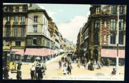 CPA. AMIENS. La Rue Des Trois-Cailloux. - Amiens