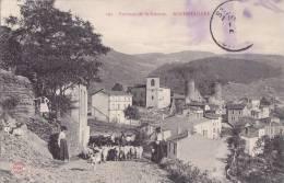 ¤¤  -  195  -  Environs De Saint-Etienne  -  ROCHETAILLEE  -  Vue Du Bourg  -  Troupeau De Moutons    -  ¤¤ - Rochetaillee