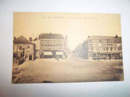 2kzj - CPA  N°43 - HIRSON - Place De La Gare - [02] - Aisne - Hirson