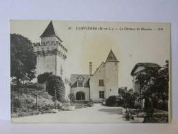 CPA 49 Maine Et Loire - DAMPIERRE - Le Château De Morains - Other Municipalities