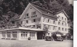 Cpa Réf-JP-Y531    (  Autriche )   BAD  ROTHIS       L´ Hôtel  EDEN Vieilles Voitures - Österreich