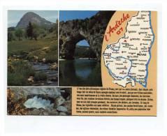 50244 -  Carte Touristique  De L´Ardèche - Unclassified