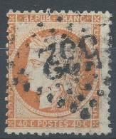 Lot N°21139    Variété/n°38, Oblit GC 532 BORDEAUX (32), Filet EST - 1870 Siege Of Paris