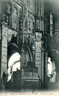 N°27940 -cpa Abbaye De Saint Sauveur Le Vicomte -chaire De L'église- - Autres Communes