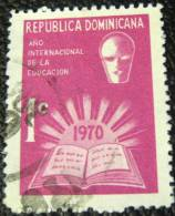Dominican Republic 1970 International Year Of Education 1c - Used - Dominicaine (République)