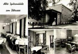 AK Strausberg, Alte Spitzmühle Am Bötzsee, Schulungsobjekt SWA, Gel 1970 - Strausberg