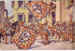SIENA Contrada LEOCORNO Usata 1955 - Siena