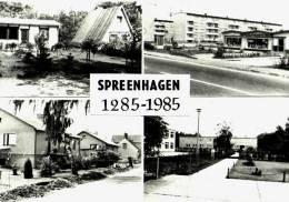 AK Spreenhagen, 1285-1985, Ung - Spreenhagen