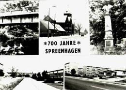 AK Spreenhagen, 700 Jahre,   Ung - Spreenhagen