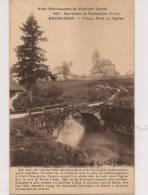 13 / 1 :20  ENVIRONS DE  PONTARLIER -ROCHEJEAN - Vieux Pont Et église - Pontarlier