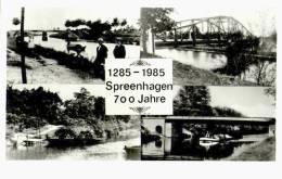AK Spreenhagen, 1285-1985, 700 Jahre, Ung - Spreenhagen