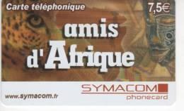 Amis D´Afrique - Carte Téléphonique - 7,5 € - SYMACOM - Frankrijk