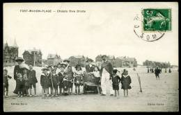 CPA.  FORT-MAHON-PLAGE.  Chalets Rive Droite. - Fort Mahon