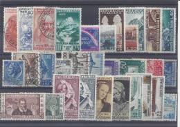 ITALIE - 1952/56 -  PETIT LOT - OBLITERES Et NEUFS - TB - - 1946-60: Used