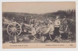 CPA - L'Artillerie Russe En Action - Russian Artillery In Motion - Canon /  WW1 - Guerra 1914-18