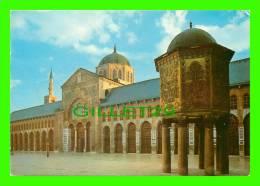 DAMAS, SYRIE - MOSQUÉE DES OMAYYADES - OMAYAD MOSQUE - CIRCULÉE EN 1987 - - Syrie