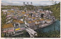 Dép. 09 - FOIX - Vue Panoramique. Colorisée. 1935. Combier - Foix