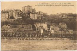 Cpa Lyon St Clair Catastrophe Du 8 Mai 1932 - Féroé (Iles)