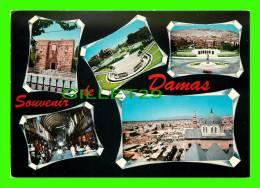 DAMAS, SYRIE - SOUVENIR DE DAMAS - 5 MULTIVUES - ÉCRITE - - Syrie