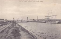 CPA - 14 - HONFLEUR - Le Bassin Carnot Et La Cartonnerie - 8 - Honfleur